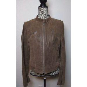 Levis - XL - Women's Leather Suede Moto Jacket